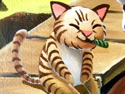 ネコ + ネコ用エセ葉巻